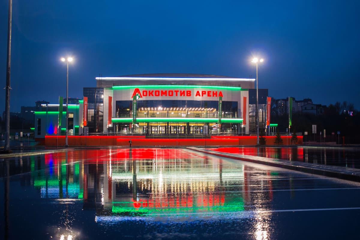Арена Локомотив г. Новосибирск