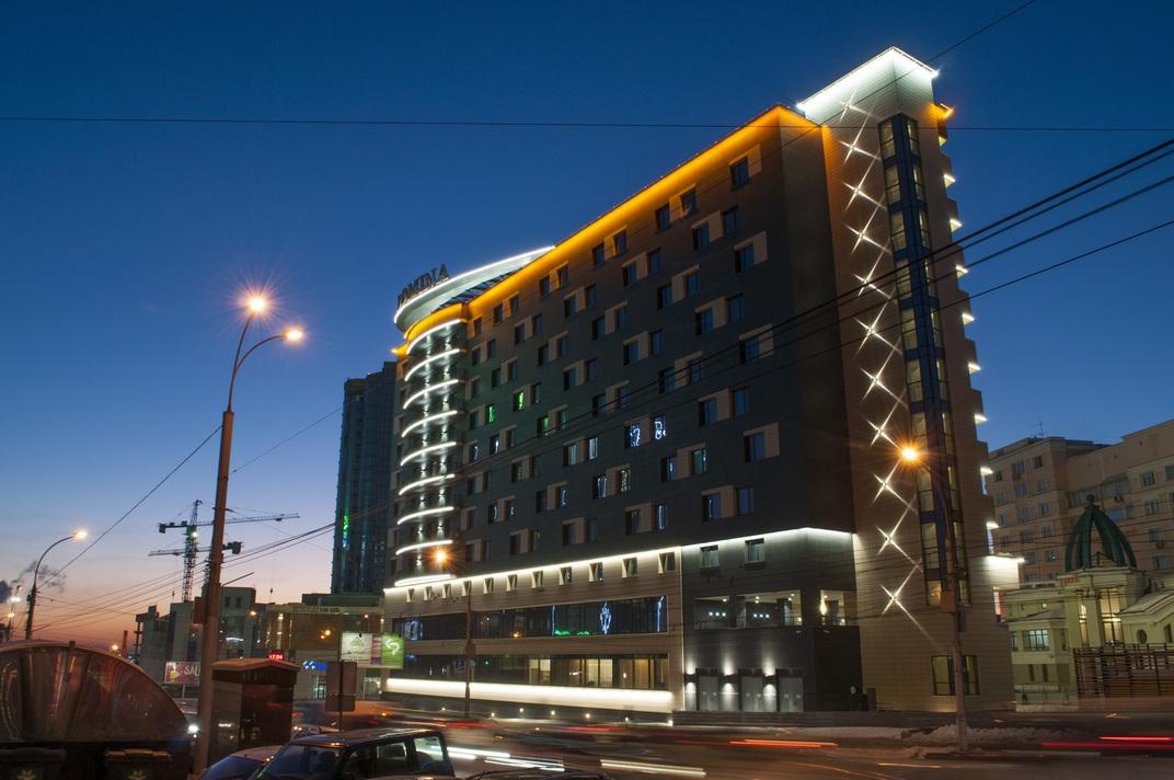 Гостиница Domina г.Новосибирск