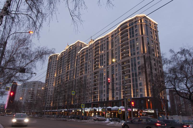 ЖК Заельцовский г.Новосибирск