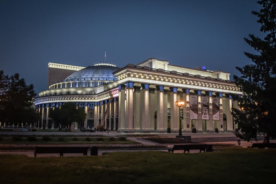Новосибирский театр оперы и балета г.Новосибирск