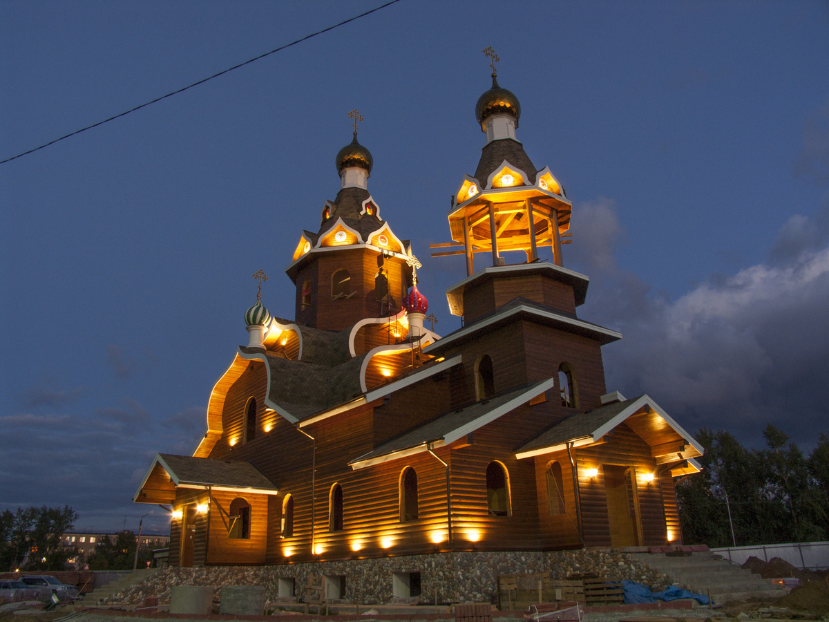 Храм г.Бердск